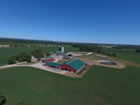 Ongoing dairy farm in Simcoe County